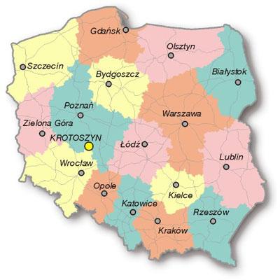 Ford Samochod Mapa Targeo Polski